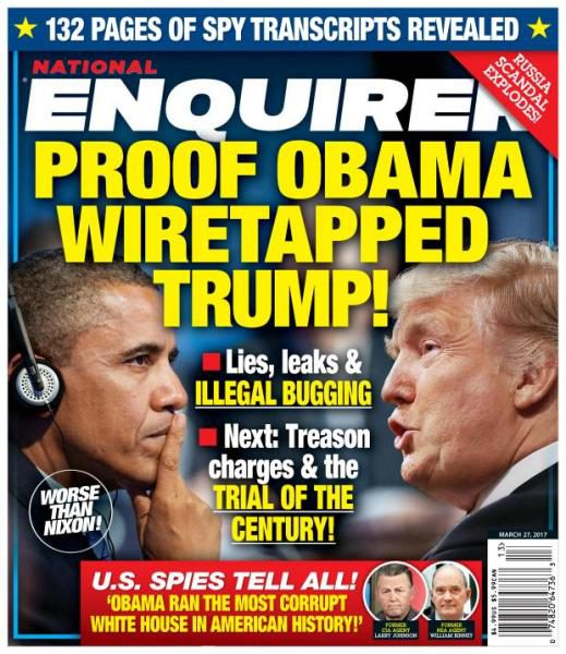 National Enquirer - 27 March 2017
