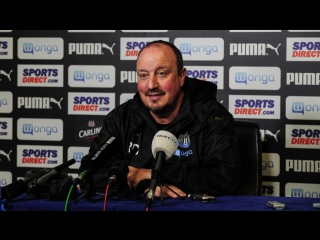 Benitez's pre-huddersfield media briefing