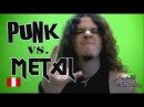Разница игры на гитаре Панк рока и Металла