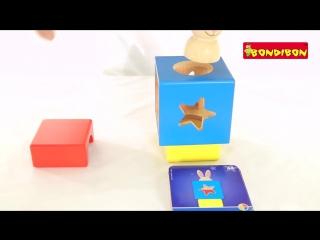 Логическая игра bondibon smart games застенчивый кролик