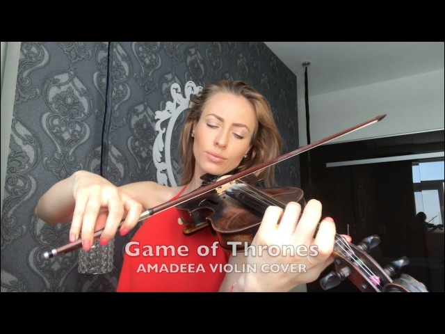 Game of Thrones Amadeea Violin Cover