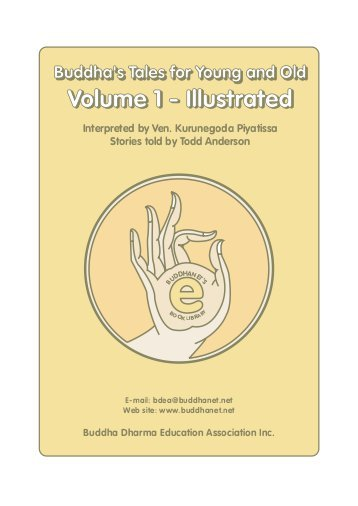 Buddhist Tales for Young and Old (Volume 1) Illustrated - BuddhaNet