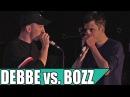 Debbe vs. Bozz - Small Final - Danish Beatbox Champs 2016
