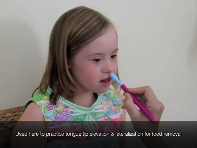 Practice Tongue Elevation Lateralization with ARK's Probe Tip