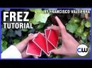 CARDISTRY TUTORIAL / CARD FLOURISH - Frez by Francisco Valtierra