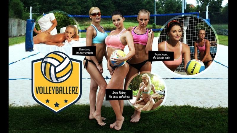Anna Polina, Ivana Sugar, Kitana Lure, Bitch Volley Anal Competition (1080p) New Porn 2017, Anal Porno, Sex,
