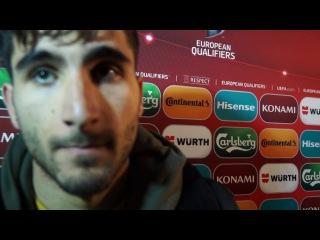 Aras Ozbiliz post-match interview   Armenia vs Kazakhstan