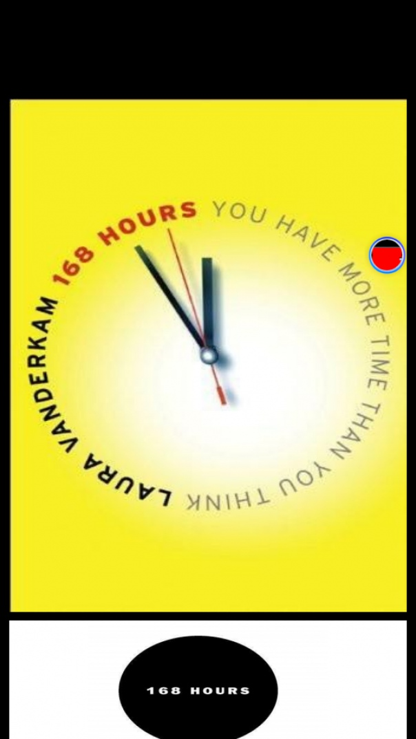 168 Hours You Have More Time Than