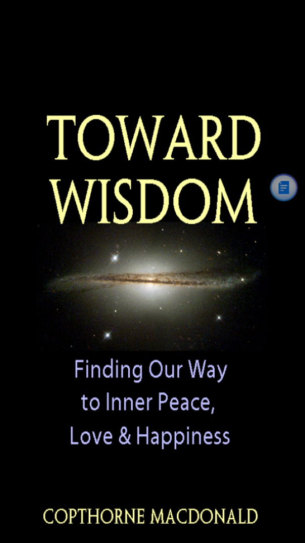 Toward wisdom finding our
