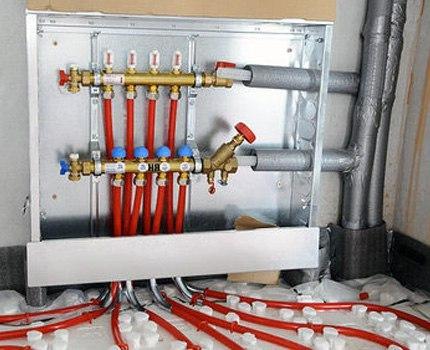 Монтаж водяного теплого пола из сшитого полиэтилена, изображение №9