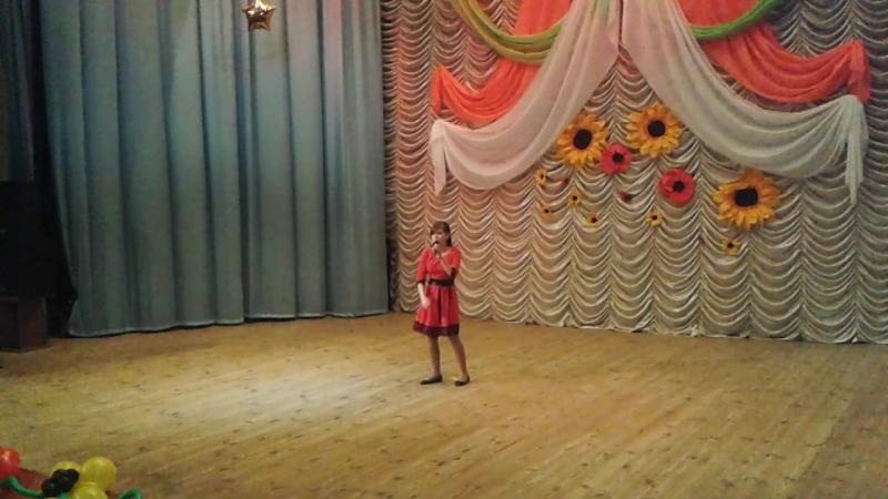 Хацько Виктория полуфинал Всеукраинского телеконкурса Зірки та зіроньки