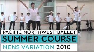 PNB's Summer Course 2010 - Men's Variation