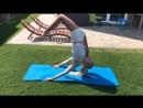 SLs ГИМНАСТКА В ДЕЛЕ. растяжка, гибкость, искривление, йога