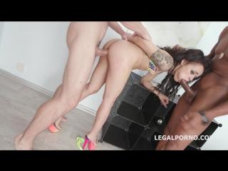 DAP destination with Holly Hendrix, balls deep anal Legal porno