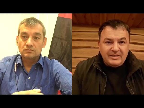 Rustam Tashbaev з Іваном Малько. Обговорювання стратегічних питань знищення правління олігархату.
