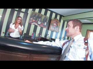 Natasha nice is a hot bartender - short shorts directed by ivan