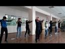 репетиция с молодежью к Зунай наадан 2018