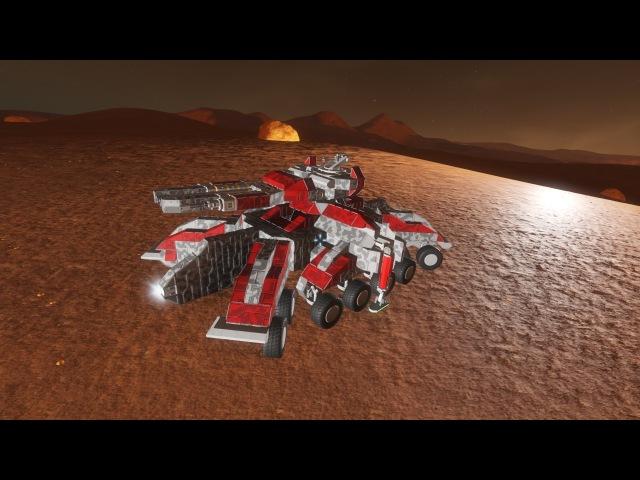 Siege tank in space engineers
