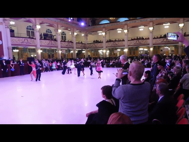 Ravlik Artur and Margita Solomija WDC AL European Championship Junior Latin Final Blackpool