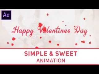 Create Valentines Day Animation in After Effects - Complete After Effects Tutorial
