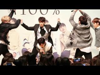 [FANCAM] 170319 100%(백퍼센트) - Better Day (Rockhyun Focus) @ Osaka - TWIN21