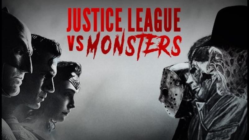 Монстры против Лиги Справедливости (Фан-трейлер)/Justice League vs Monsters Trailer with Adeel of Steel [HD]