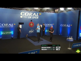 Vincent van der Voort vs James Wilson (Coral UK Open 2017 / Round 2)