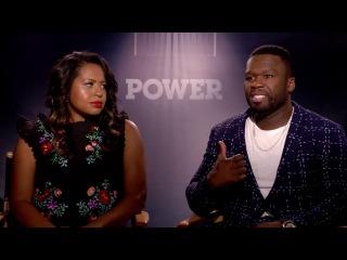50 Cent & Courtney Kemp Speak on Season 4 of Power! - Kanan VS Ghost??