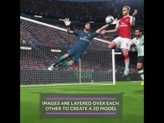 Arsenal players' photoset for pes