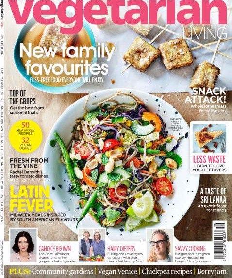 Vegetarian Living September 2017