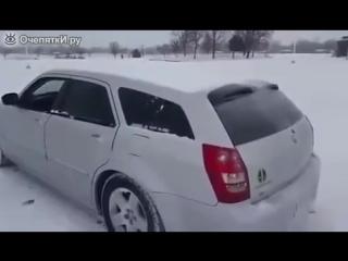 Чистка авто с помощью буфера