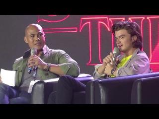 Stranger Things Panel (Asia Pop Comic Con 2017) feat. Noah, Joe, Sadie, and Dacre
