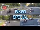 Bike Compilation Mix - Nürburgring Nordschleife - Seat Leon Cupra Megane RS Motorbike R1 R6 RR