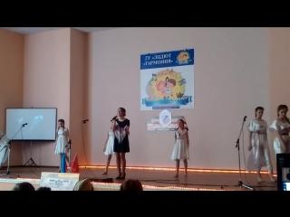 """Конкурс """"Мир без войны"""". 28 школа. 1 место в городе!!! Луганск."""