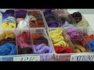 Грубые волокна для декора в валянии: Лен, Крапива, Бамбук. Магазин Шкатулочка