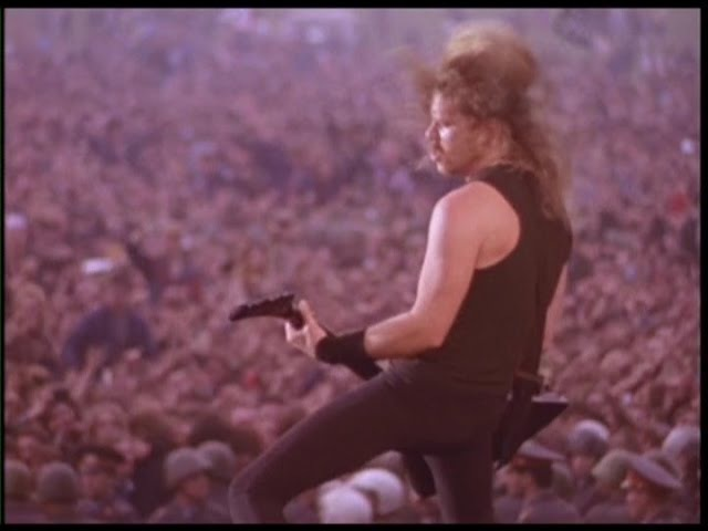 Metallica Harvester Of Sorrow Live in Moscow Russia 1991 Pro Shot