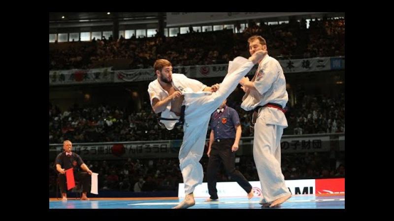 新極真会 The 11th World Karate Championship Men 5th round6 Brian Jakobsen vs Nazar Nasirov