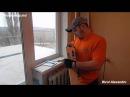 Установка теплых откосов на окна. 2 Часть.Монтаж пластиковых откосов начало