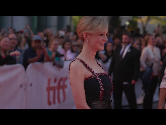 MUDBOUND Carey Mulligan Red Carpet Premiere Arrivals TIFF 2017
