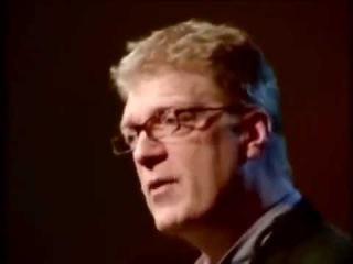 Сэр Кен Робинсон- о дырах в современном образовании и творчестве на TED