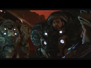 Звёздный десант.Космические войны.Фильмы про космос.Starcraft 2.Космическая фантастика