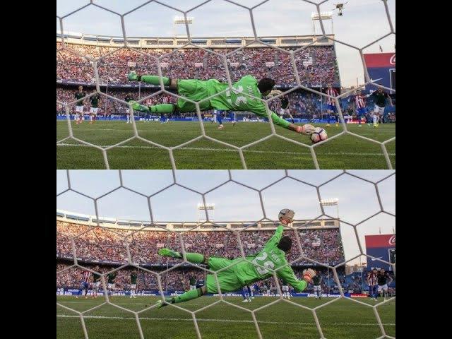 Голкипер «Осасуны» Сиригу отразил два пенальти за две минуты в матче против «Ат ...