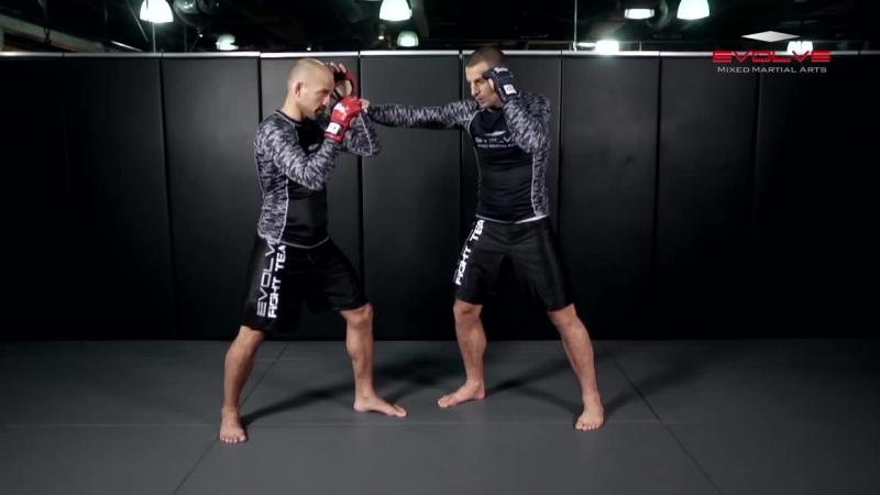 UFC Tarec Saffiedine Head Kick KO Combination _ Evolve University