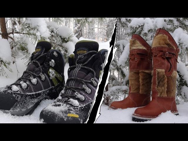 Как выбрать зимнюю обувь? Какими должны быть настоящие Унты? Монгольские Унты Hunter