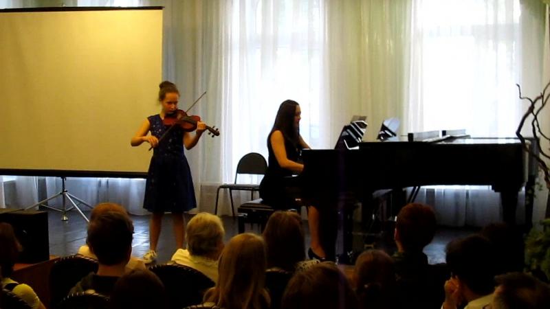 Концерт выпускников в ДЦМШ 19 мая 2017 года