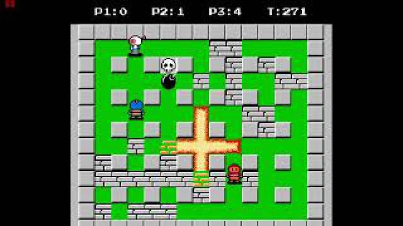 Турнир Золотой динамит Bomberman 2 NES IIIтур Eg or3 Berstain Don't Panic
