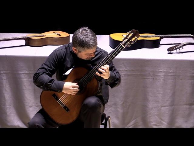 Luigi Attademo suona le chitarre di Antonio de Torres Quattro Mazurke