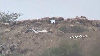 Йемен. +18. Снайпер хуситов против двух саудитов в провинции Джизан, Саудовская Аравия