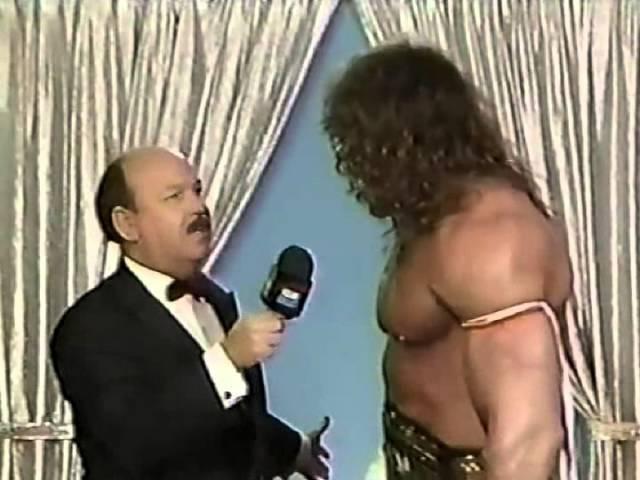Ultimate Warrior Promo on Honky Tonk Man (01-07-1989)