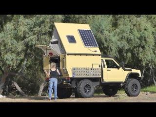 Jeep Comanche Camper self-build - heavily modified